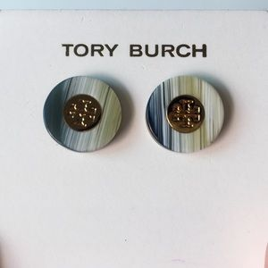 Classy TORY BURCH Studded Earrings NEW